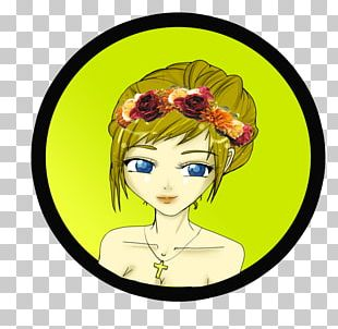 Illustration Cartoon Character Flower Fiction PNG