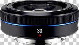Camera Lens Samsung NX-mount Samsung NX 30mm F2 Pancake Samsung NX 60mm F2.8 Macro ED OIS SSA Mirrorless Interchangeable-lens Camera PNG