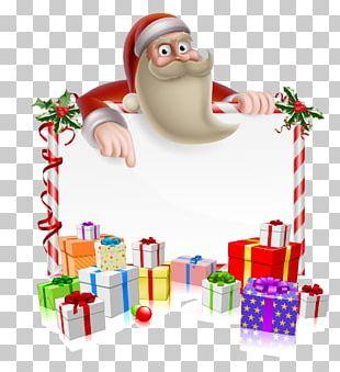 Rudolph Santa Claus Reindeer Christmas Cartoon PNG