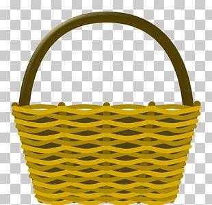 Basket Hot Air Balloon Wicker PNG