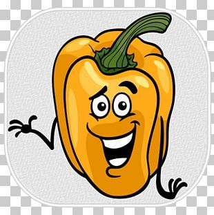 Bell Pepper Cartoon Vegetable PNG