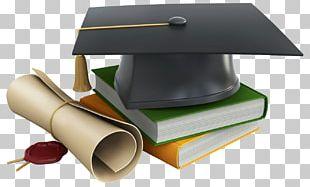 Square Academic Cap Graduation Ceremony Diploma PNG