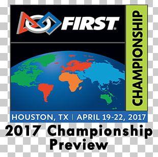 FIRST Championship Technology Logo Robotics Brand PNG