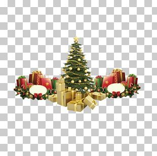 Santa Claus Christmas Tree PNG