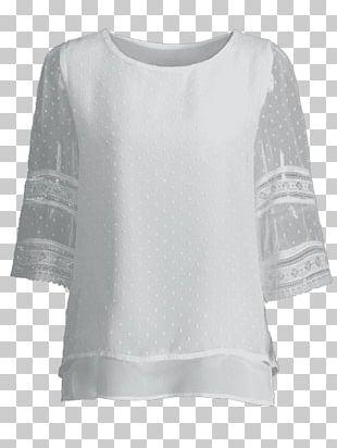 Sleeve T-shirt Shoulder Blouse PNG
