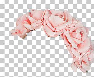 Garden Roses Flower Bouquet Wreath Pink Cut Flowers PNG