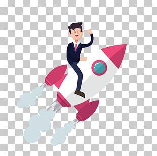 Website Service Rocket Man PNG