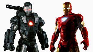 War Machine Iron Man Whiplash Justin Hammer Marvel Cinematic Universe PNG