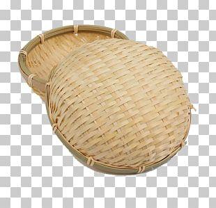 Basket Bamboo Creel PNG