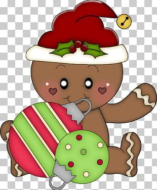Christmas Gingerbread Man PNG