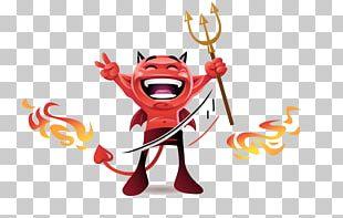 Devil Angel Illustration PNG