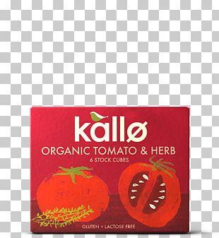 Organic Food Bouillon Cube Herb Kallø PNG