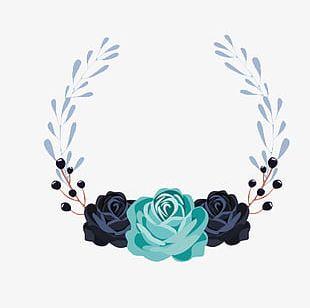 Wedding Floral Decorative Elements PNG