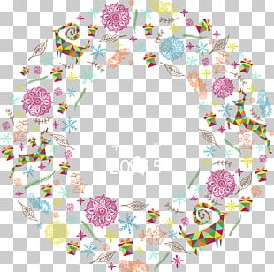 Christmas New Year Poster Euclidean PNG