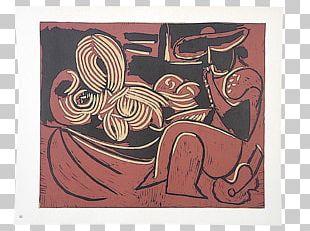 Linocut Le Déjeuner Sur L'herbe Art Painting Still Life PNG