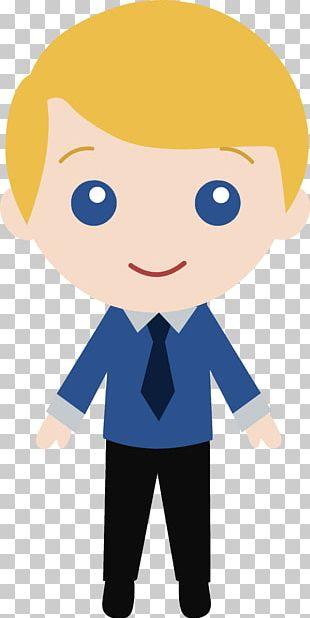 Cartoon Man Suit PNG