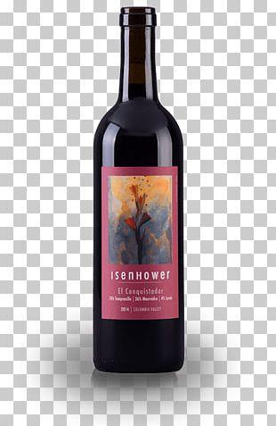 Liqueur Red Wine Dessert Wine Glass Bottle PNG