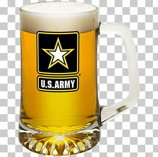 United States Army Military Tankard Beer Glasses PNG