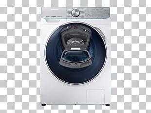Washing Machines Samsung WW8800 QuickDrive Clothes Dryer Laundry Máquina De Lavar E Secar Roupa Carga Frontal Samsung WW8800 10Kg A+++ Prateado PNG