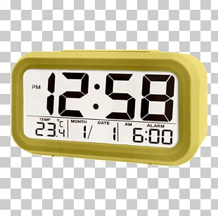 Light Alarm Clocks Digital Clock Liquid-crystal Display PNG