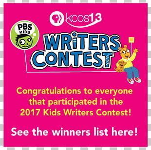 PBS Kids Writing Essay Writer Competition PNG