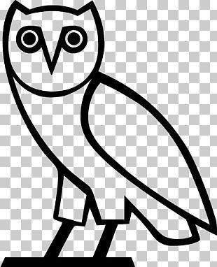 T-shirt Owl Logo OVO Sound Decal PNG