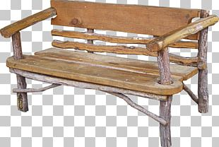Furniture Bench Table Wood Chair PNG