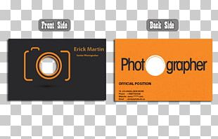 Business Card Design Logo Visiting Card Business Cards Photography PNG