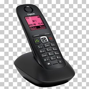Digital Enhanced Cordless Telecommunications Cordless Telephone Gigaset A540 Gigaset Communications PNG