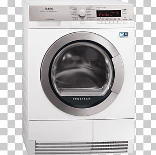 Washing Machines AEG L85470SL Clothes Dryer Linens PNG