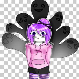 Finger Cartoon Pink M Legendary Creature PNG