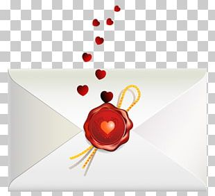Love Letter Valentine's Day PNG
