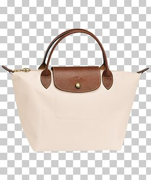 Tote Bag Longchamp Handbag Leather PNG