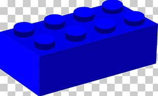 Toy Block LEGO Blue PNG