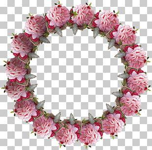 Floral Design Wreath Artificial Flower Bougainvillea PNG