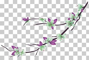 Flower Bouquet Branch Drawing PNG