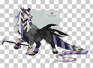 Horse Cartoon Legendary Creature PNG