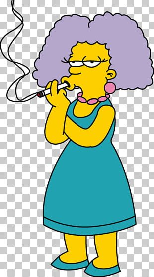 Patty Bouvier Selma Bouvier Marge Simpson Homer Simpson Bart Simpson PNG