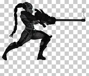 Action & Toy Figures Black Silhouette Action Fiction PNG