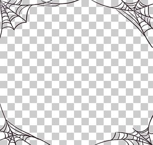 Spider Web Halloween All Saints' Day PNG