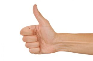 Thumb Signal Hitchhiking Gesture PNG