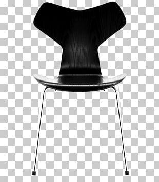 Model 3107 Chair Grand Prix Swan Fritz Hansen PNG