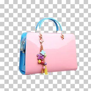 Tote Bag Handbag Red PNG