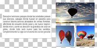 Hot Air Balloon Advertising Sky Plc PNG