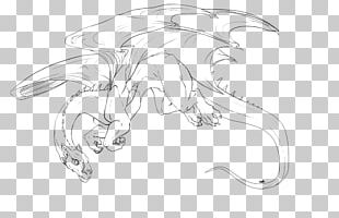 Line Art Character White Sketch PNG