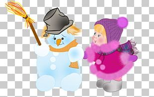 Winter Snowman Behavior Presentation PNG