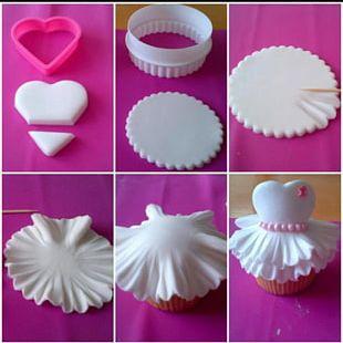 Cupcake Petit Four Wedding Cake Birthday Cake Dress PNG
