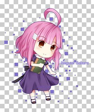 Mangaka Anime Purple Desktop PNG