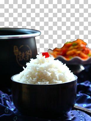 Cooked Rice White Rice Jasmine Rice Basmati Tableware PNG