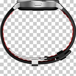 Alcatel One Touch Alcatel Mobile Alcatel OneTouch Smart Watch SM02 Black/Red PNG